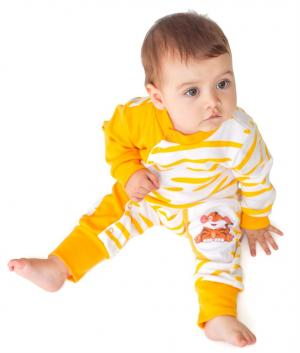 Комбинезон  Сафари, цвет: оранжевый Babyglory