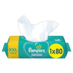 Салфетки  «Fresh Clean Value» влажные детские, 80 шт Pampers