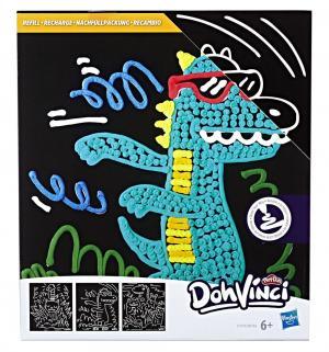 Набор для творчества  Трафареты Крокодил DohVinci