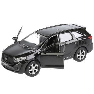 , Машина Kia Sorento Prime черный, 12 см Технопарк