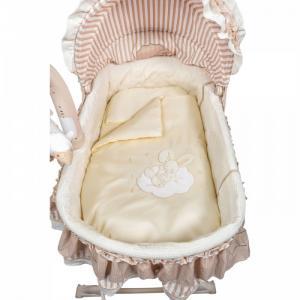 Комплект в колыбель  Sleeping Bunny (6 предметов) ЛансЭлин KidsFashion