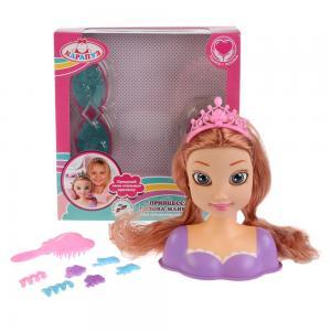 Кукла-манекен  Для создания причесок (В фиолетовом платье) Карапуз