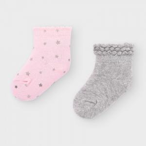 Newborn Носки для девочки (2 пары) 9307 Mayoral