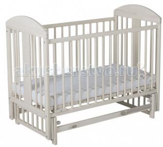 Детская кроватка  Мишка маятник поперечный Гном
