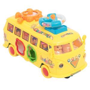 Игрушка транспортная  Веселый автобус (желтый) 21 х 10 13 см Игруша