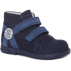 Ботинки Dandino. Цвет: синий