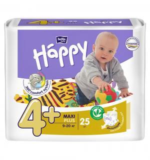 Подгузники  Baby Happy Maxi Plus 4+ (9-20 кг) 25 шт. Bella