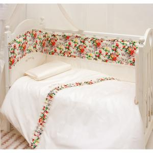 Комплект в кроватку  Sweet Baby 120x60 (6 предметов) Makkaroni Kids