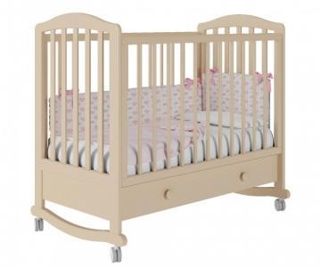 Детская кроватка  Пикколо-1 базовая с ящиком Милано Можгинский лесокомбинат