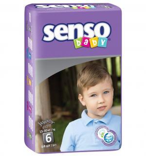 Подгузники  Junior Extra (15-30 кг) 64 шт. Senso Baby