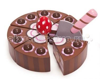 Деревянная игрушка  Шоколадный торт LeToyVan