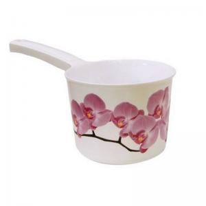 Ковш  Орхидея, цвет: белый М-Пластика