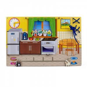 Деревянная игрушка  Бизиборд Кухня Woodland