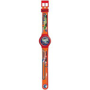 Электронные наручные часы Kids Time Hot Wheels Детское время. Цвет: оранжевый