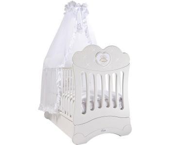 Детская кроватка  FMS Chaton продольный маятник Feretti