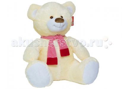 Мягкая игрушка  Мишка большой с шарфом 80 см Нижегородская