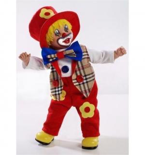 Кукла  Elegance в красном костюме с синим бантом 50 см Arias