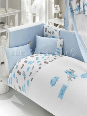 Комплект в кроватку  Puffy Pilot (6 предметов) Bebe Luvicci