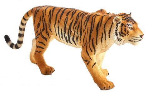 Фигурка Animal Planet Бенгальский тигр XL темный Mojo