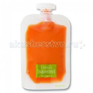 Мягкая упаковка 50 шт. для пюре и смузи 25 крышечек Infantino