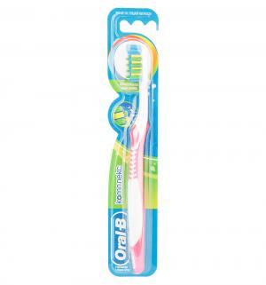 Зубная щетка  Комплекс средняя жесткость, цвет: розовый Oral-B