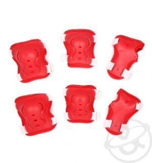 Комплект защиты , цвет: красный Action Sport