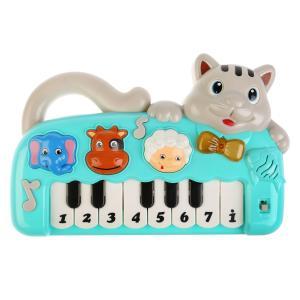 Игрушка музыкальная на батарейках Пианино, со светом No Name