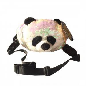 Сумочка поясная Блестящая панда Fluffy Family
