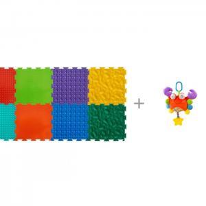 Игровой коврик  модульный Набор №2 Малыш и Подвесная игрушка Forest Крабик ОртоДон