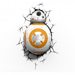Пробивной 3D светильник Дроид BB-8, Звёздные Войны Детское время