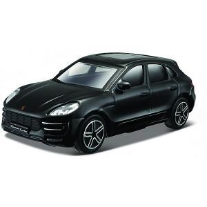 Машинка  Porsche Macan, 1:43 Bburago. Цвет: черный