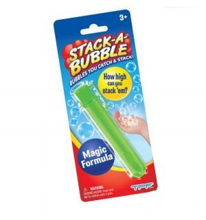 Застывающие мыльные пузыри  зеленые, 22 мл Stack-A-Bubble