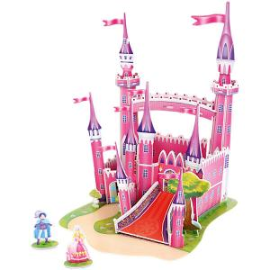 3D пазл  Розовый замок, 29 элементов Funny