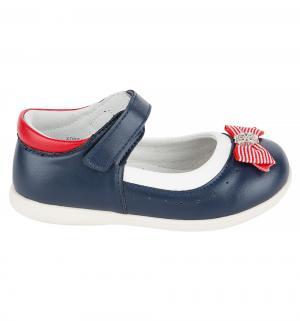 Туфли , цвет: синий Прыг-Скок