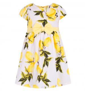 Платье , цвет: белый/желтый Damy-M