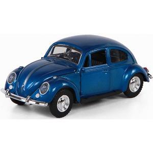 Машинка  Toys 1:34, синяя Yako. Цвет: синий