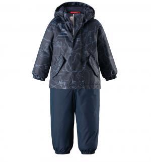 Комплект куртка/брюки  Tec Olki, цвет: синий Reima