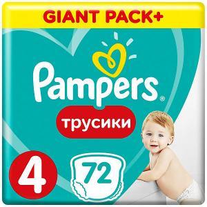 Трусики  Pants 9-15 кг, 72 шт Pampers