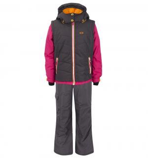 Комплект куртка/полукомбинезон , цвет: серый Gusti Boutique