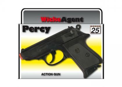 Пистолет Percy 25-зарядные Gun Agent 158mm в коробке Sohni-wicke
