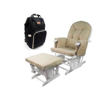 Кресло для мамы  Agostina с сумкой-рюкзаком Tarde Forest