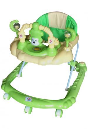 Ходунки Tommy WT407, цвет: зеленый Tizo