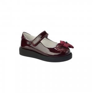 Туфли для девочки Betsy Princess. Цвет: красный