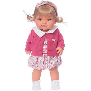 Кукла  Сильвана, 38 см Munecas Antonio Juan. Цвет: розовый