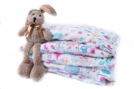 Одеяло  Девочки 110х140 см + пододеяльник Daisy