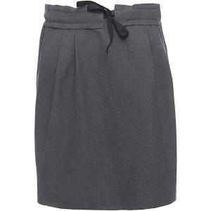 Юбка для девочки Смена. Цвет: серый