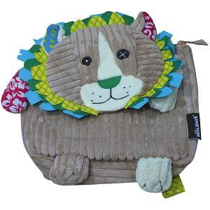 Рюкзак Deglingos Jelekros  Lion серый. Цвет: серый