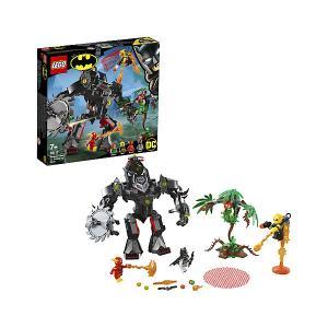 Конструктор  Super Heroes 76117: Робот Бэтмена против робота Ядовитого Плюща LEGO