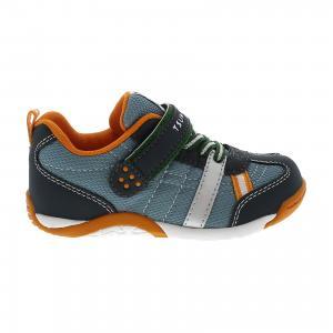 Кроссовки  для мальчика Tsukihoshi. Цвет: серый