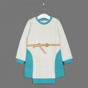 Платье  Гуси-лебеди, цвет: бирюзовый Ёмаё